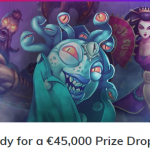 Ready for a €45,000 Prize Drop?